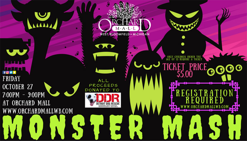 Orchard Mall Monster Mash October 27