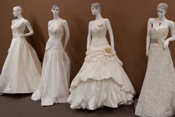 Couture wedding gowns.
